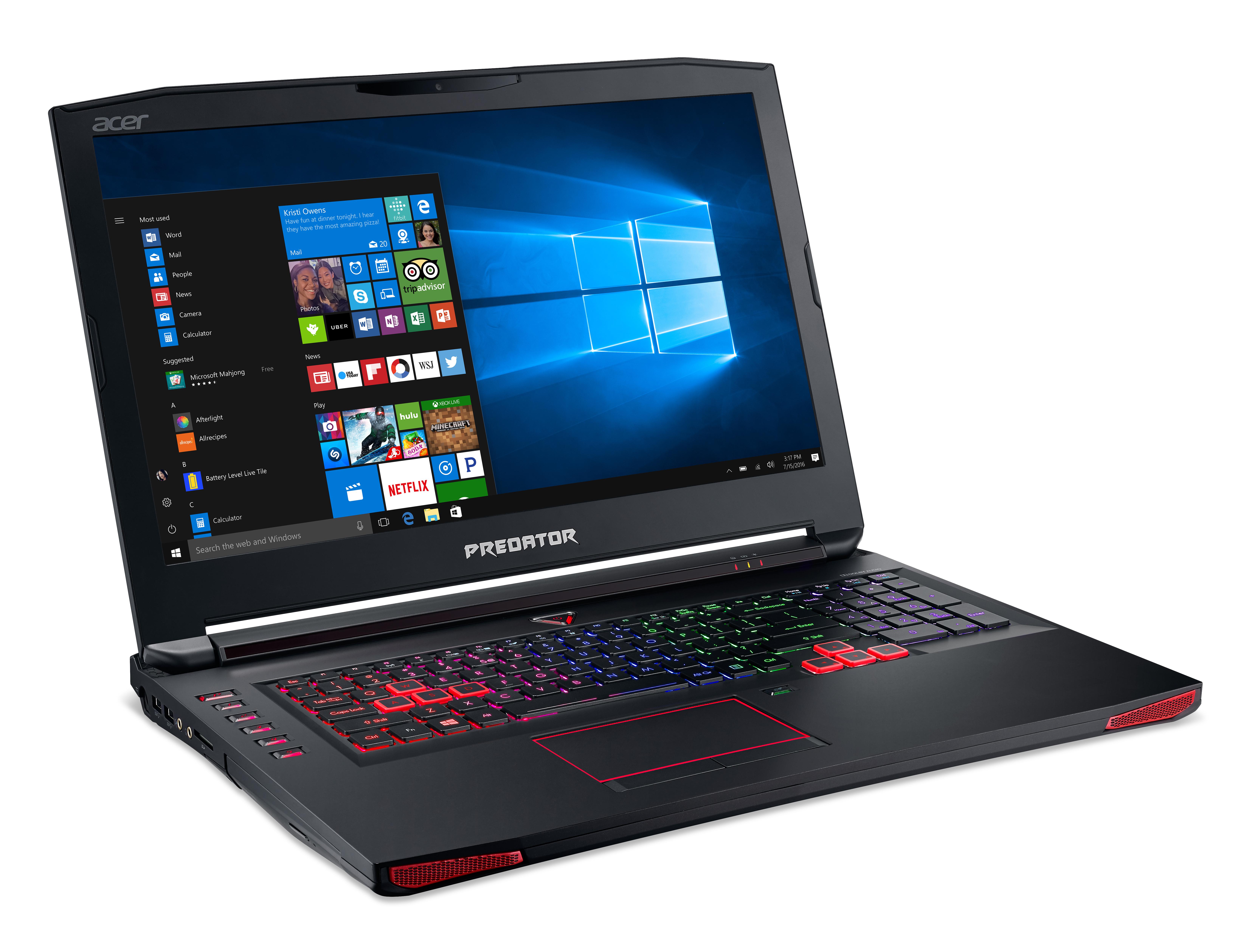 Specs Acer Predator 17 G9-793-75GZ Black,Red Notebook 43.9 cm (17.3 ... d8fa079034