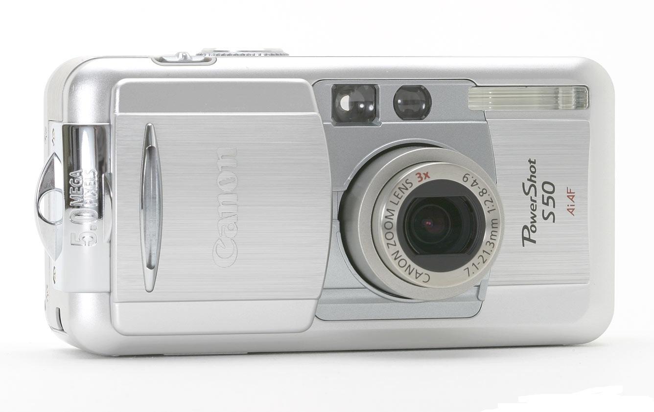 Product data-sheet Canon PowerShot S50 5MP 2592 x 1944pikslit