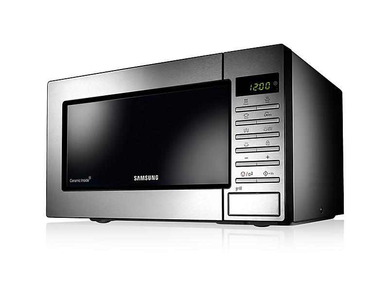Samsung GE87M Microonde con grill 23L 800W Acciaio inossidabile