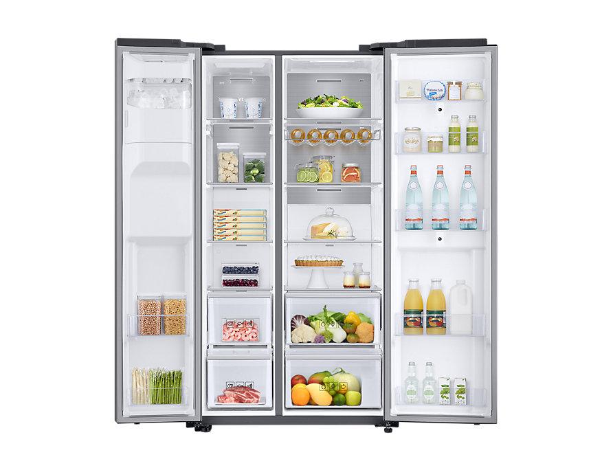 Produktdaten Samsung RS68N8941SL Side-by-Side Kühlkombination ...