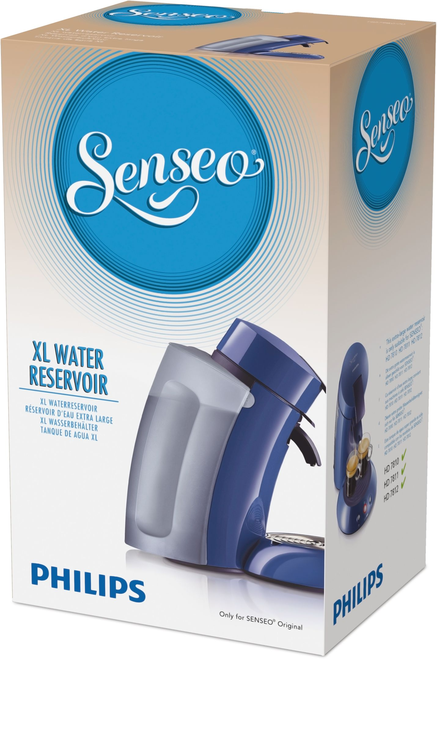 HD7810//40 HD7810//51 Senseo HD7982 XL Réservoir D/'eau senseo machines HD7810//20