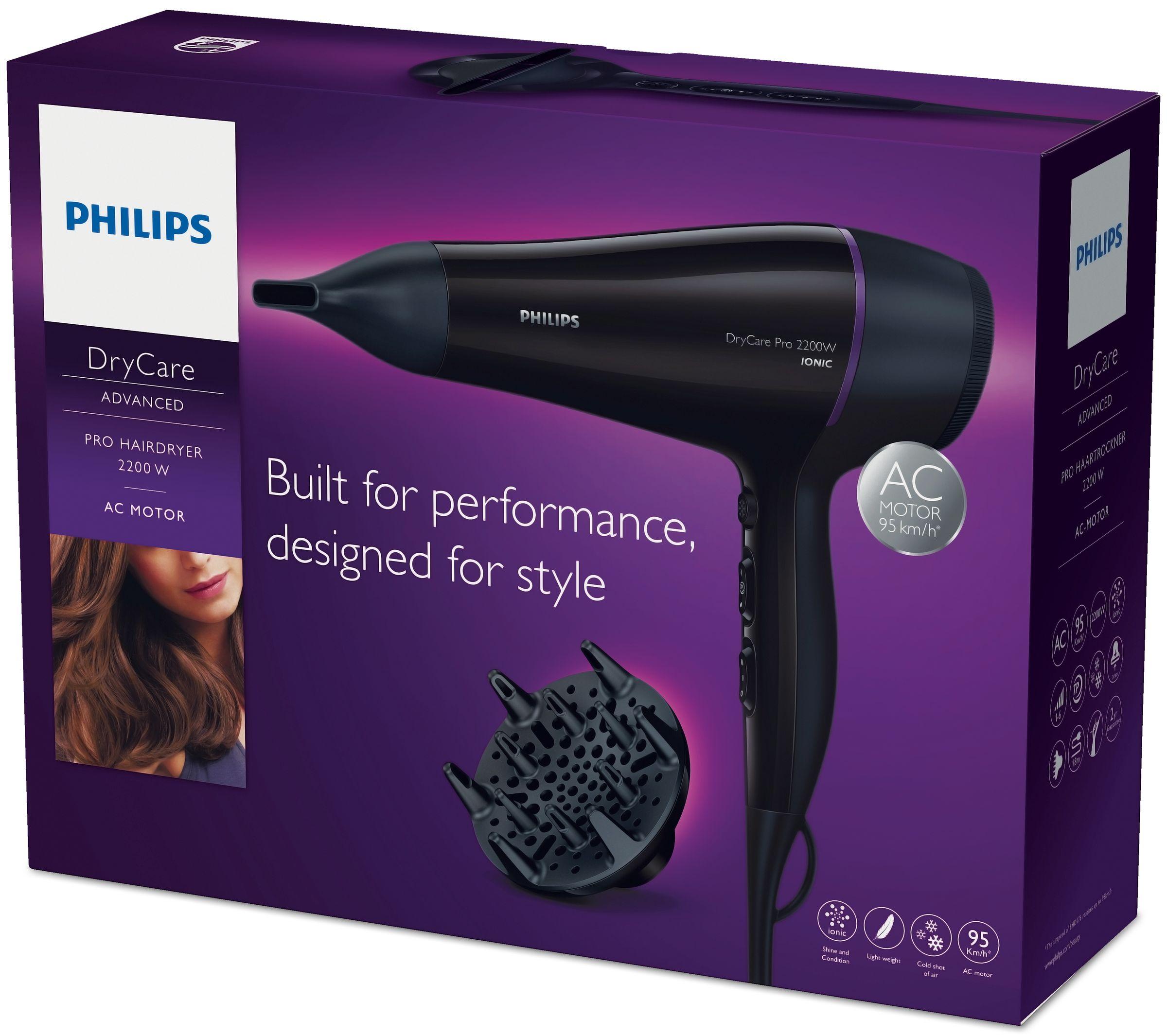 характеристики Philips Професійний фен BHD176 00 Фени (BHD176 00) fa94850e0e0a6