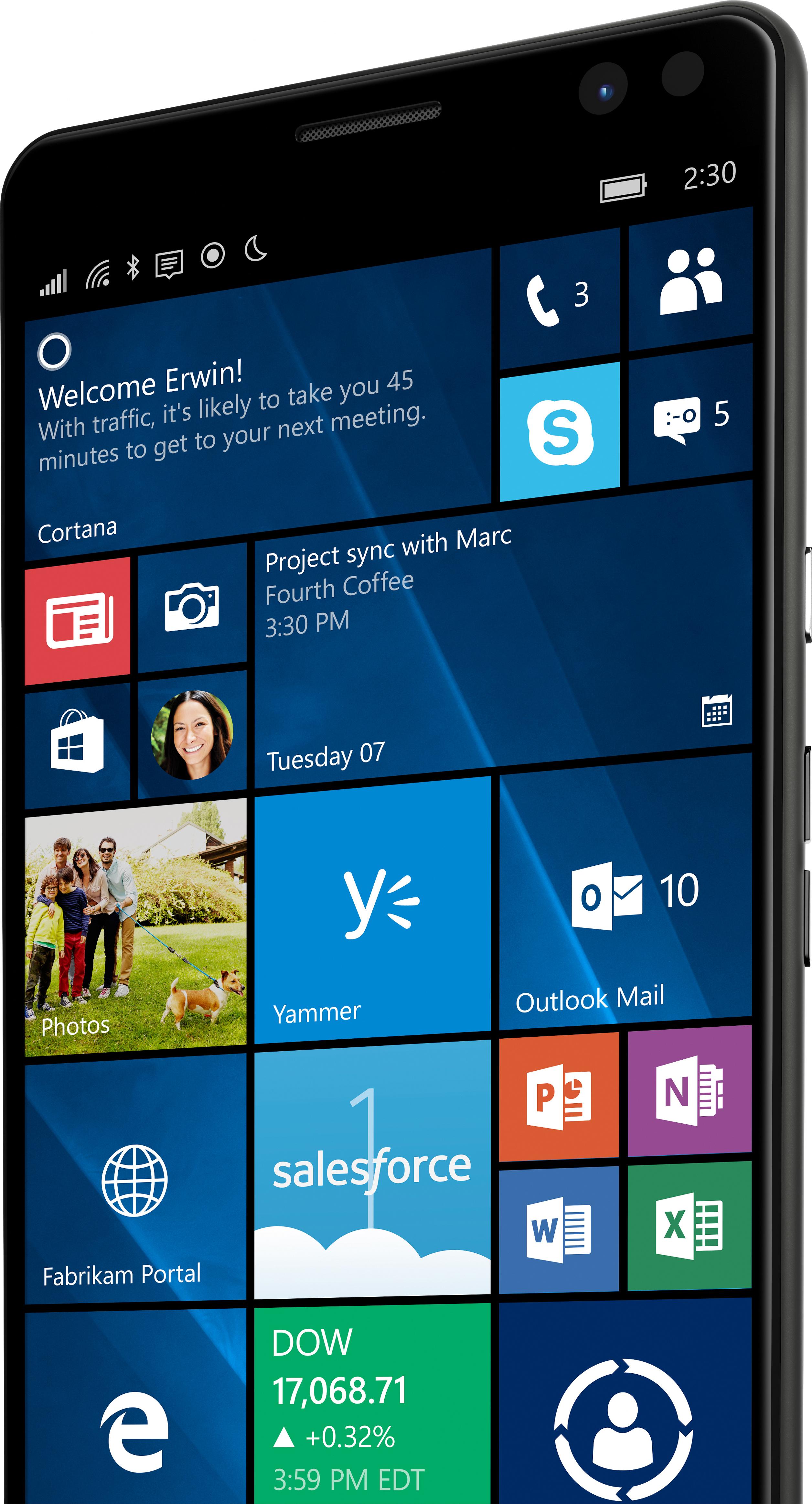Product datasheet HP Elite x3 Smartphones (Y1M46EA)