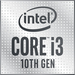 Intel Core i3-10100, LGA1200, 4-Core, 8-Thread, 3,6/4,3GHz