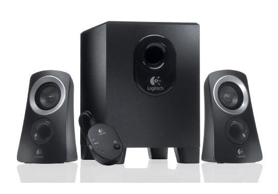 LOGITECH Z313 Speaker 2.1 25 Watt black - EMEA