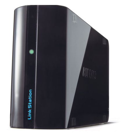 BUFFALO LinkStation Mini 2TB 6,4cm 2,5Zoll Festplatte RAID 0/1 Compact Multimedia Network Storage schwarz