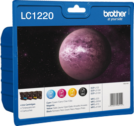 Label Brother LC-1220VALBP inktcartridge