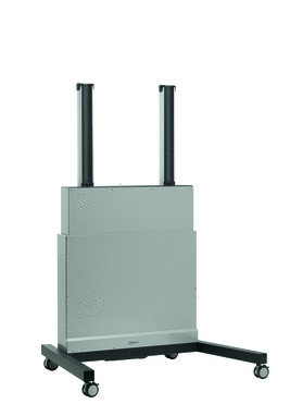 Trolley Vogel's PFFE 7110 flat panel vloer standaard