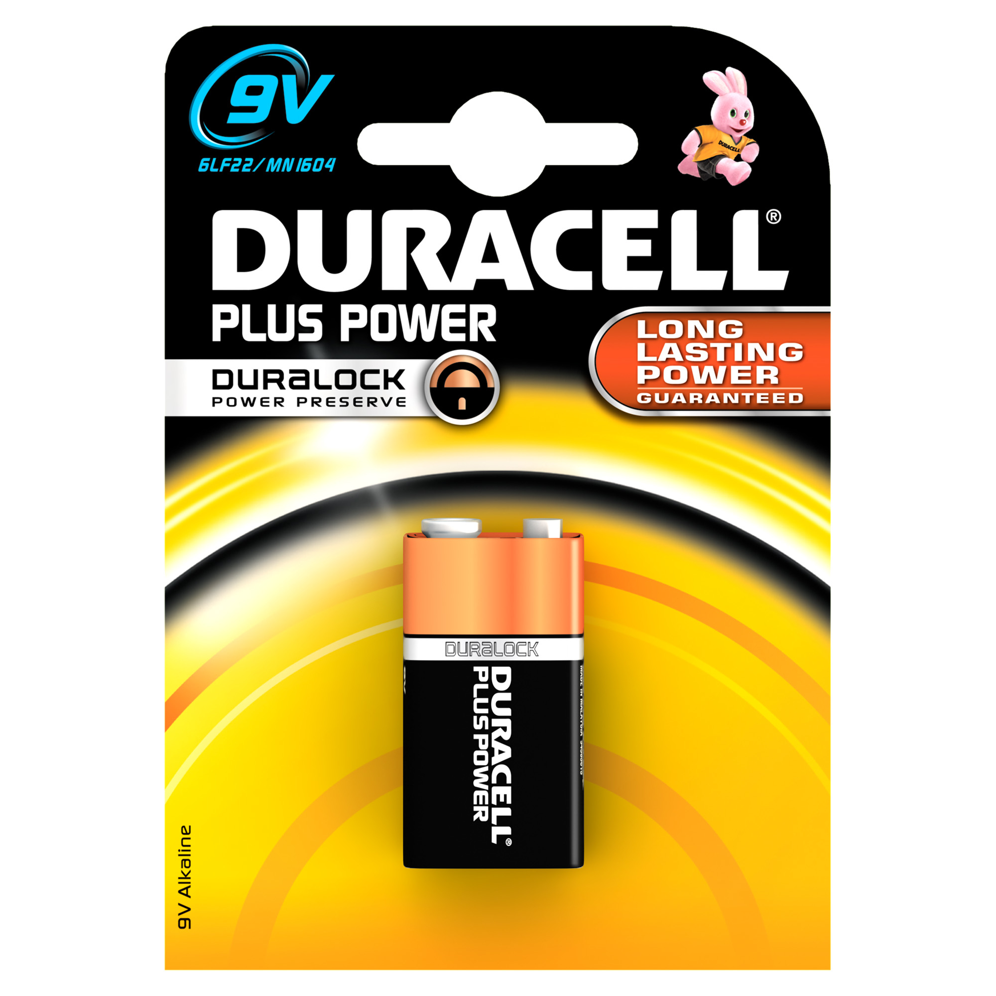 Block Duracell Power Plus (1-Pack)