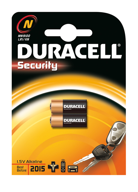 Batterie Duracell Security N (MN9100)                   2St.