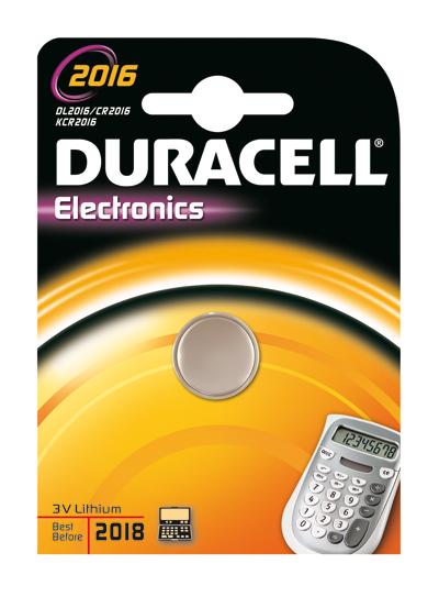 Batterie Duracell Lithium 2016 Knopfz. 3V               1St.
