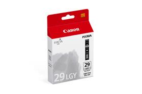 CANON PGI-29 LGY Tinte hell grau Standardkapazit�t 1.320 seiten 1er-Pack