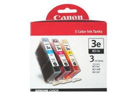 CANON BCI-3E C/M/Y Tinte cyan, magenta und gelb Standardkapazität combopack blister ohne Alarm
