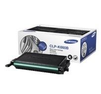 SAMSUNG CLP-K660B Toner schwarz hohe Kapazit�t 5.000 Seiten 1er-Pack