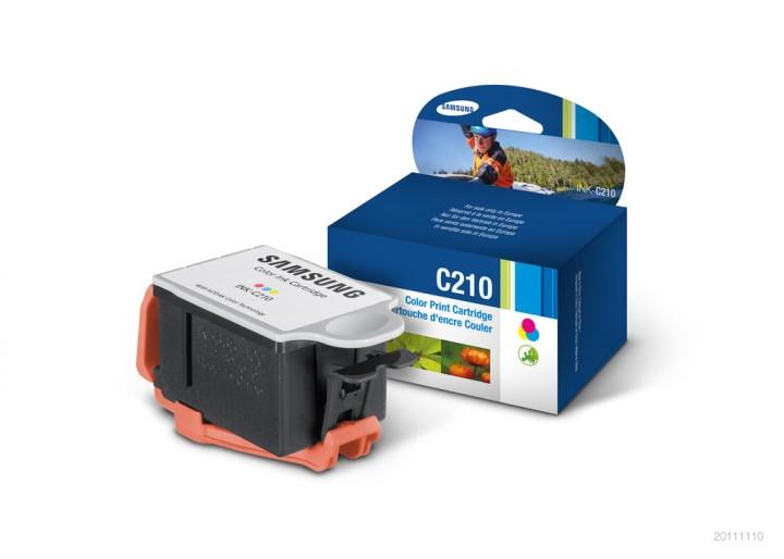 SAMSUNG INK-C210/ELS Tinte farbig Standardkapazität 250 Seiten 1er-Pack