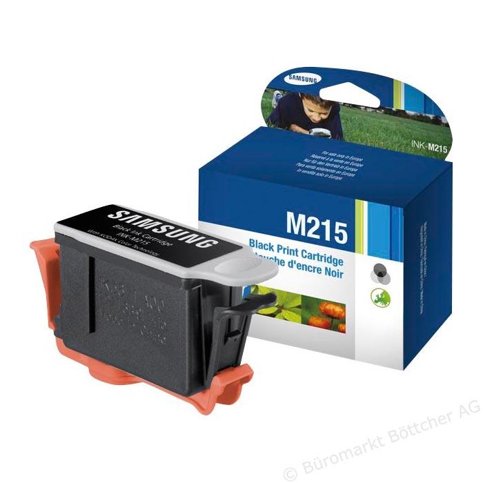 SAMSUNG INK-M215/ELS Tinte schwarz hohe Kapazit�t 430 Seiten 1er-Pack