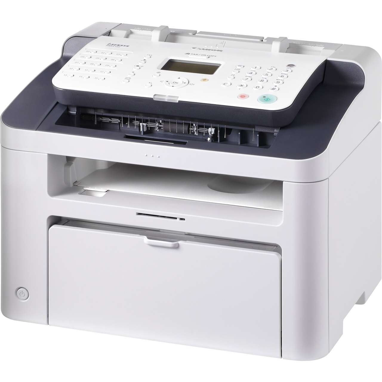 CANON i-SENSYS FAX-L150 Laserfax Super G3 33.6kbps 12Kopien/Minute drucken bis 1200dpi 18ppm 512Seiten Faxspeicher