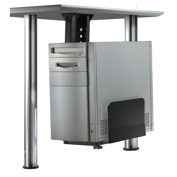 NEWSTAR CPU-D200BLACK PC-Tischhalterung ist ein Halterung um einem PC unter dem Schreibtisch zu montieren