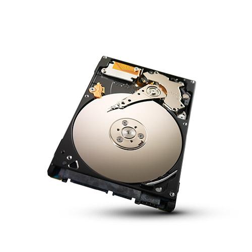 SEAGATE Laptop Thin 500GB HDD 5400 rpm SATA serial ATA 3Gb/sNCQ 16MB cache 6,4cm 2,5Zoll BLK ohne Einbaurahmen