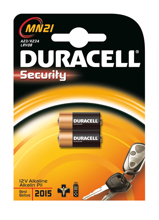 Duracell Batterie Security MN21                         2St.