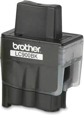 BROTHER LC-900 Tinte schwarz Standardkapazität 500 Seiten 1er-Pack