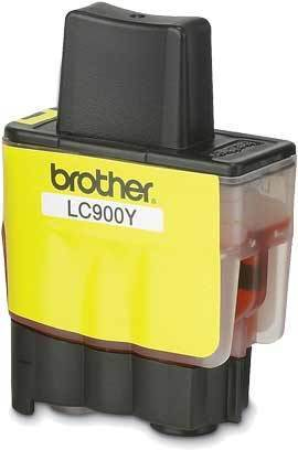 BROTHER LC-900 Tinte gelb Standardkapazit�t 400 Seiten 1er-Pack