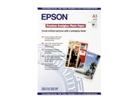 Epson A3 Premium Semigloss Photo Paper; A3; 1000 g; 251 g/m; 12 x 431 x 333 mm image