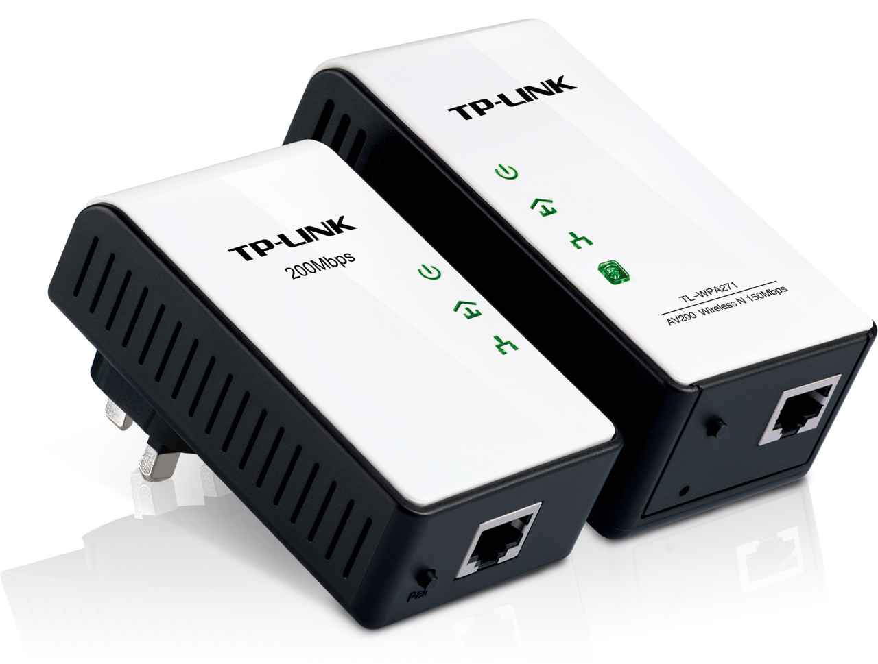 TP-Link Netz Powerline 200Mb TP-Link WPA271 Kit