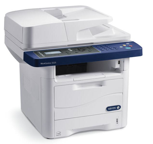 WORKCENTRE 3325/DNI BLACK AND WHITE MFP, PRINT/COPY/SCAN/ FAX/E-MAIL, UP TO 37PP