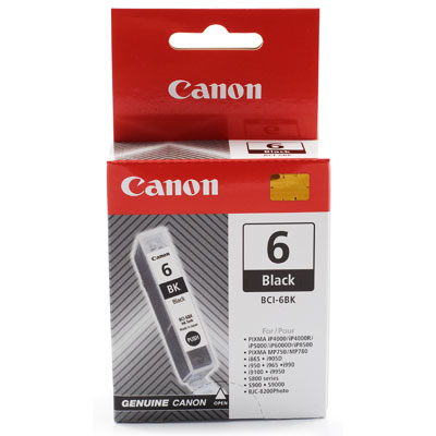 Inktpatroon Canon BCI-6 BK