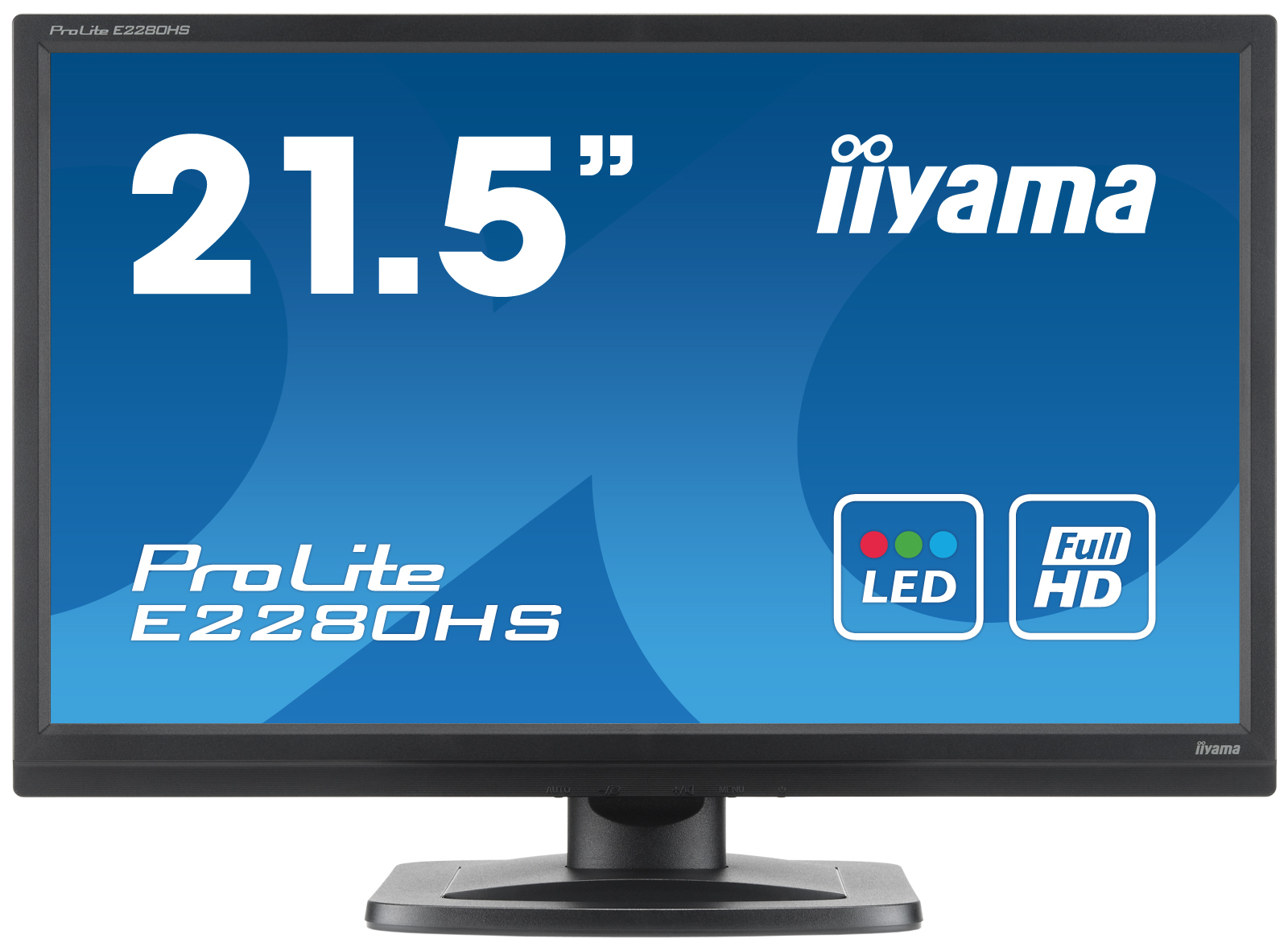 E2280HS-B1/21,5&amp;quot; W LED VGA DVI MM BLK