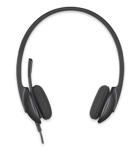 LOGITECH H340 USB Headset black