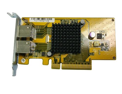 QNAP DualPort Gigabit Netzwerk-Erweiterungs-Karte fuer Rackmount Serie TS-ECx80U/TVS-x71U/TS-x63U/TVS-ECx80-SAS/TS-x79U/TS-ECx79U