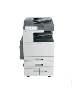 LEXMARK X950dhe MFP A3 color Laserdrucker 45ppm print scan copy fax Duplex