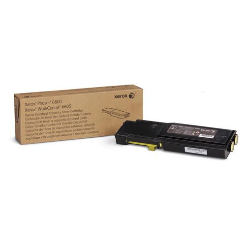 Laser Toner Xerox Phaser 6600/WorkCentre 6605 Standaard tonercartridge geel (2.000 pagina's)