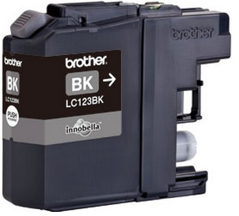 Inktpatroon Brother LC123BK