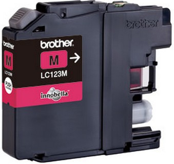 Inktpatroon Brother LC123M