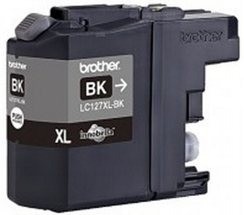 BROTHER LC127XLK Tinte schwarz1200Seiten
