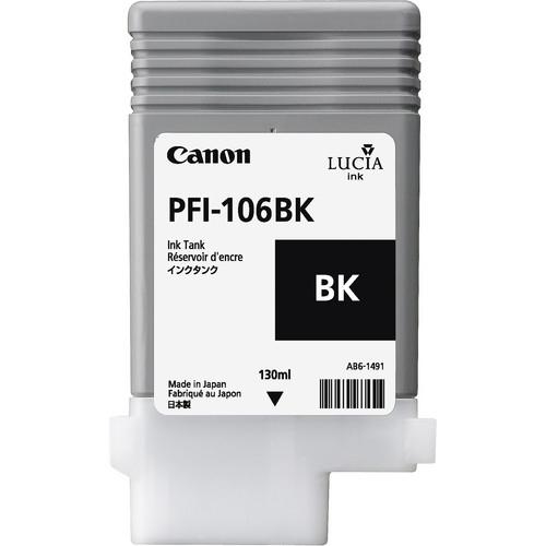 CANON PFI-106BK Tinte schwarz Standardkapazität 130 ml 1er-Pack
