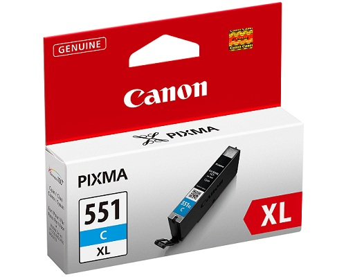 Inktpatroon Canon CLI-551XL C