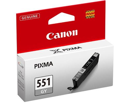 CANON CLI-551GY Tinte grau Standardkapazität 780 Seiten 1er-Pack