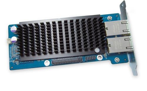 QNAP DualPort 10Gigabit Netzwerk-Erweiterungs-Karte fuer TVS-ECx80/TVS-x71/TVS-x63/TS-x63UTS/TVS-x71/TVS-x71U/TVS-x70/TS-x70