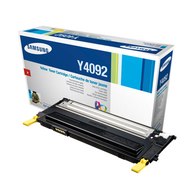 SAMSUNG CLT-Y4092S Toner gelb hohe Kapazit�t 1.000 Seiten 1er-Pack