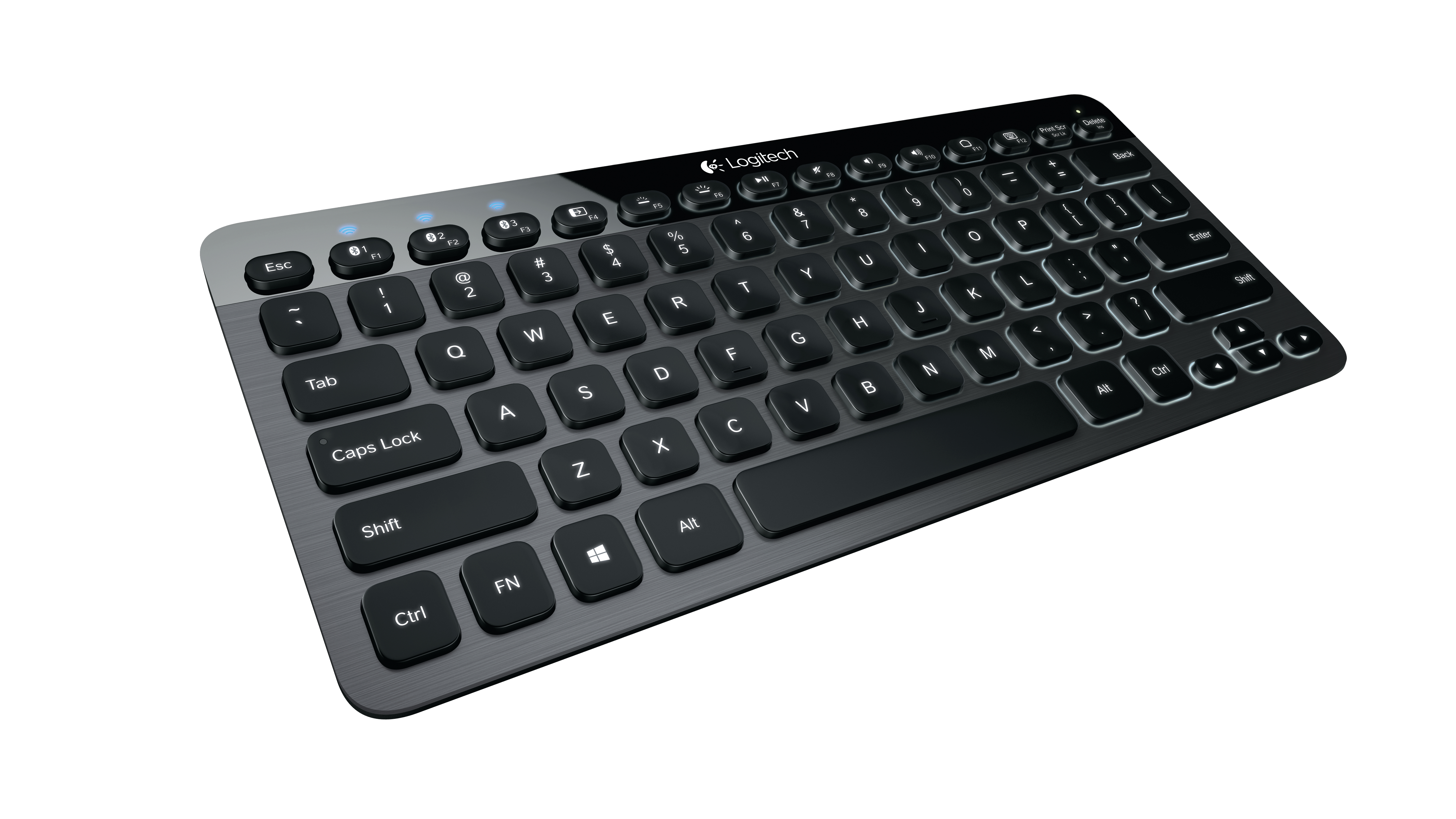 LOGITECH K810 Illuminated Bluetooth Keyboard (DE)