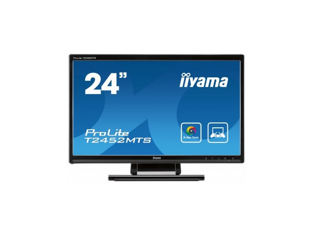 Iiyama 23.6 inch LED / TFT Full HD 1080p VGA DVI-D HDMI T2452MTS-B1
