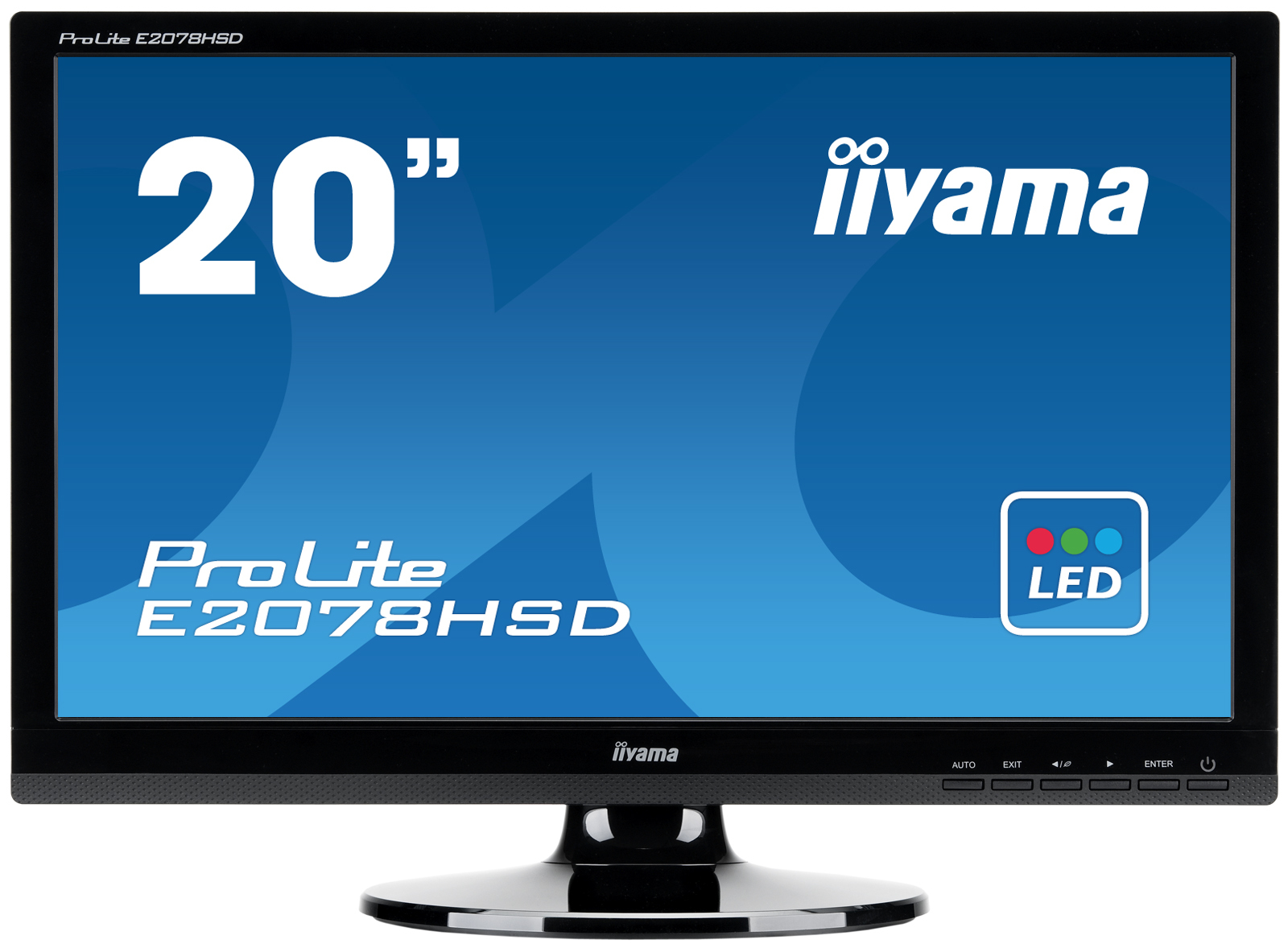 E2078HSD/20&amp;quot;LED 16:9 1600x900 DVI MM Bk