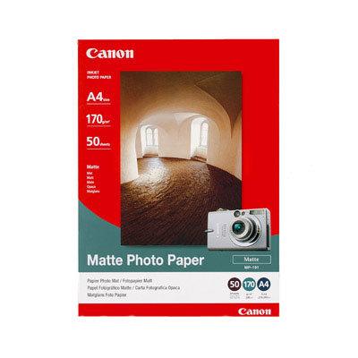 CANON MP-101 matte Foto Papier 170g/m2 A4 50 Blatt 1er-Pack