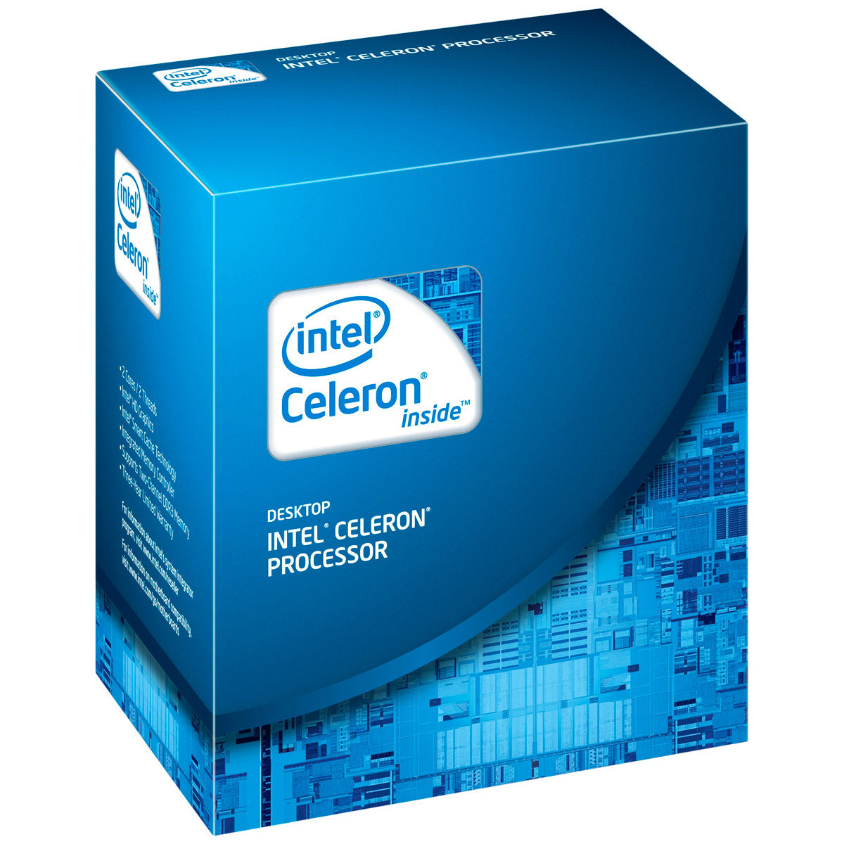 Boxed Intel Celeron Processor G530 (2M Cache, 2.4 GHz, 65W) socket LGA1155 (Sandy Bridge)