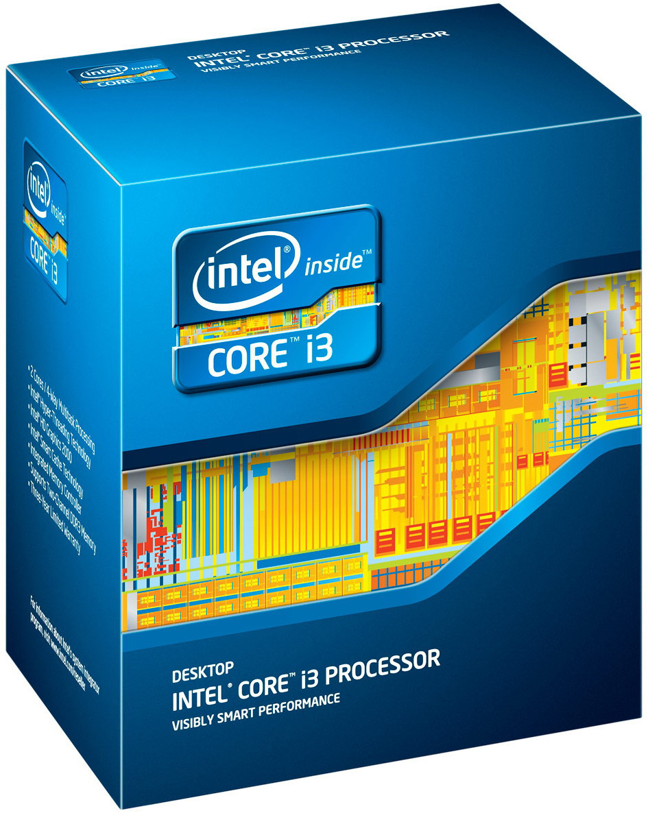 Boxed Intel Core i3-2130 Processor (3M Cache, 3.4 GHz, 65W) socket LGA1155 (Sandy Bridge)