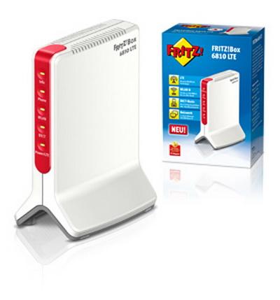 AVM FRITZ!Box 6810 LTE Modem ? integr.Dual-Band WLAN N-Router - DECT-Basis f.bis zu 6 Schnurlostelefone + AB - Wi-Fi Protected Setup